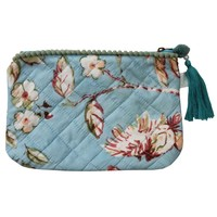 Powell Craft Make-up Tasche Blue Blossom