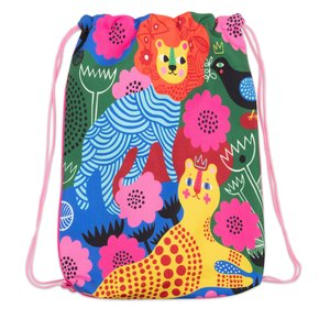 Kitsch Kitchen Drawstring Bag Lion