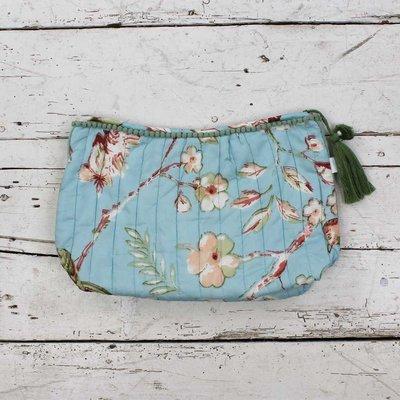 Powell Craft Wash Bag Blue Blossom