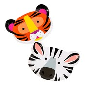 Talking Tables Paper Plate Animal Face Shaped