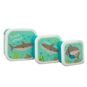 Sass & Belle Snack Box Shark Set of 3