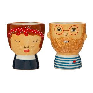 Sass & Belle Egg cups Libby & Ross Set of 2