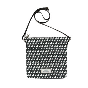 Earth Squared Messenger Bag Grey Triangle