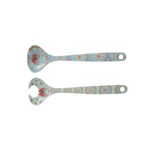 Overbeck and Friends Melamine salad servers Ida