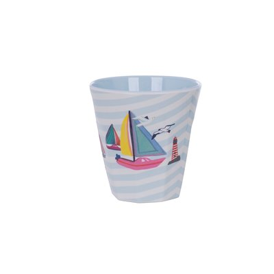 Overbeck and Friends Melamine cup Ahoy 1