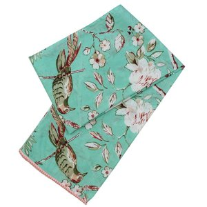 Powell Craft Scarve Cotton Mint Blossom