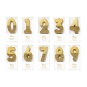 Talking Tables Starterset 30 Glitzerkerzen gold