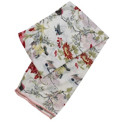 Powell Craft Scarve Cotton Rose red/pink
