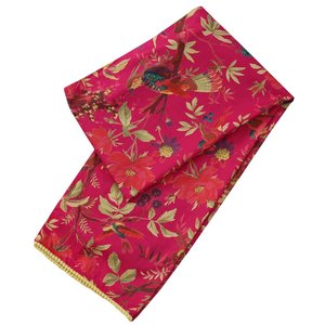 Powell Craft Scarve Cotton Bird hot pink