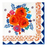 Talking Tables Paper Napkins Boho Spice Floral