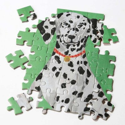 Talking Tables Display mit Puzzle Dogs