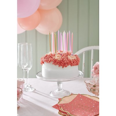 Talking Tables Birthday Candles rose/gold