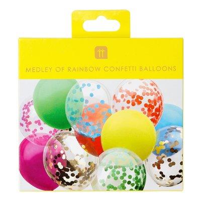 Talking Tables Luftballons Rainbow Confetti