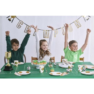 Talking Tables Paper Napkins Party Champions Boot Shaped