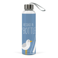 Paperproducts Design Glass-Flasche Beach