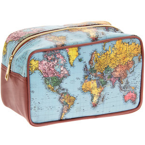 Lesser & Pavey Washbag World Traveller