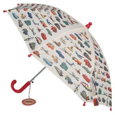 Rex London MIX Kinder-Regenschirme Transport/Tiger/Space