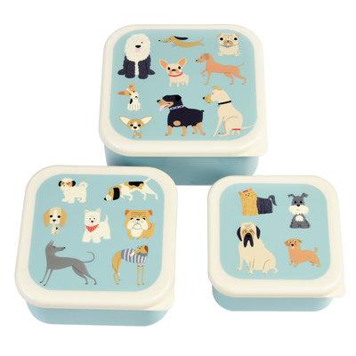 Rex London  Set of 3 snack boxes BEST-MIX-1