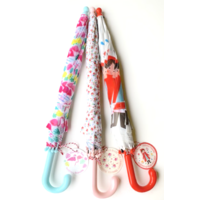 Rex London MIX Children's umbrellas Flamingo/Petite Rose/Red Ridinghood