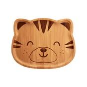 Sass & Belle Bamboo Plate Woodland Tiger