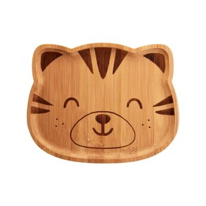 Sass & Belle Bamboo Plate Woodland Tiger
