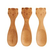 Sass & Belle Bamboo Spoons Tiger Set of 3