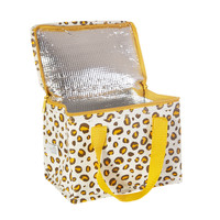 Sass & Belle Lunch bag Natural Leopard