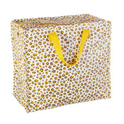 Sass & Belle Storage bag medium Natural Leopard