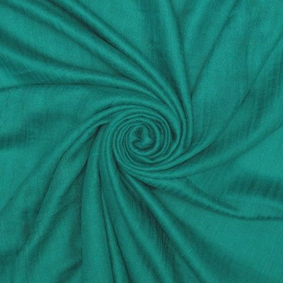 Pure & Cozy Scarf Cotton / Wool bright teal