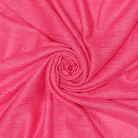 M&K Collection Scarf Cotton / Wool hot pink
