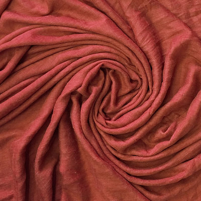 M&K Collection Schal Cotton/Wool red