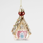 Sass & Belle Christmas Decoration Princess Gingerbread House