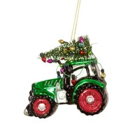 Sass & Belle Christmas  decoration Festive Tractor