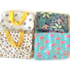 Sass & Belle MIX Lunch Bag Bees/Leaves/Leopard/Flamingo