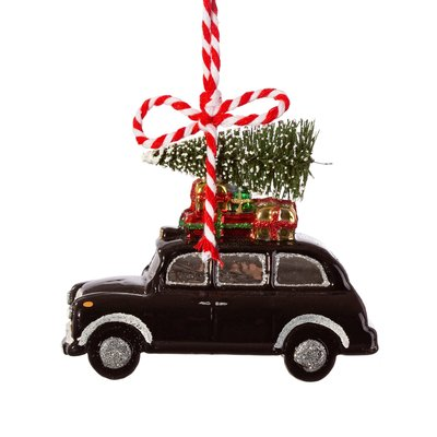 Sass & Belle Christmas decoration Black Cab