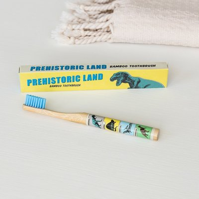 Rex London Bamboo Toothbrush Prehistoric