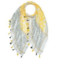 M&K Collection Scarf Tassel Marrakech-yellow