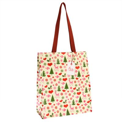 Rex London Einkaufstasche 50's Christmas