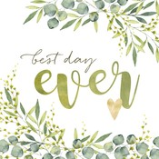 Paperproducts Design Paper Napkins Best Day Ever