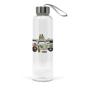 Paperproducts Design Glass bottle Happy Freedom
