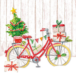 Paperproducts Design Paper Napkins Snow Bike