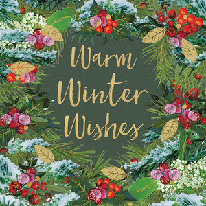 Paperproducts Design Paper Napkins Winter Wishes