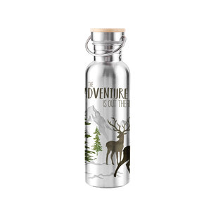 Paperproducts Design Stainless steel bottle Adventure Deer