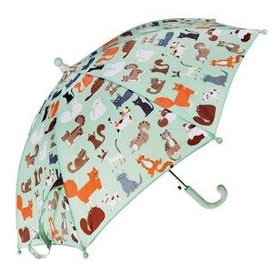 Rex London Kinder-Regenschirm Nine Lives