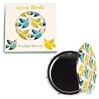 Rex London Compact Mirror Love Birds