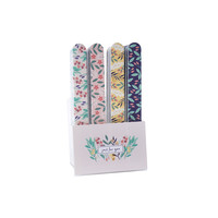 CGB Giftware Nail Files Floral WBM assorti