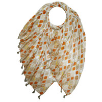 M&K Collection Scarf Tassel  Istanbul mocca