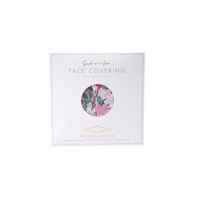 CGB Giftware Schutzmaske Baumwolle mit Filterfach W&R dusky pink