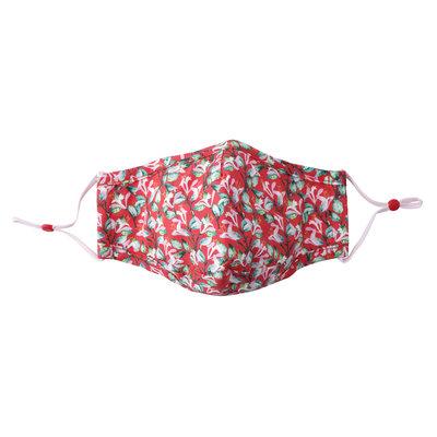 CGB Giftware Schutzmaske Baumwolle mit Filterfach W&R coral