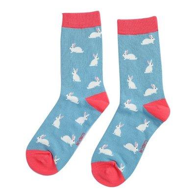 Miss Sparrow Socks Bamboo Rabbits duck egg